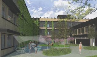 Rekonstrukce pražské střední školy ze 70. let na školu budoucnosti pokračuje se zpožděním