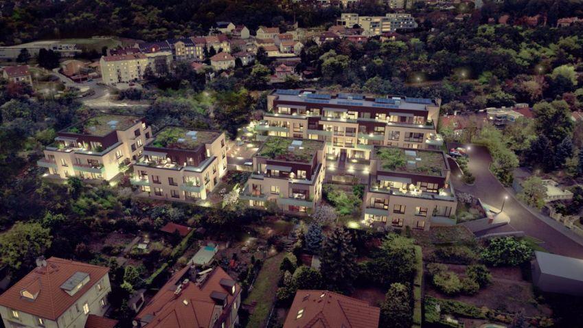Stavba komorního projektu Čertův vršek zahájena