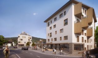 Stavbou roku 2020 Plzeňského kraje se může stát i Rezidence Javor v Železné Rudě
