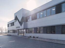 Stavby realizované mimo území Zlínského kraje, Novostavba výrobně administrativní budovy Teco a.s., Kolín