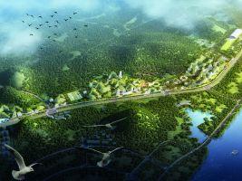 Stefano Boeri Architetti_Liuzhou Forest city_birdview