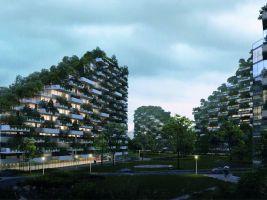 Stefano Boeri Architetti_Liuzhou Forest city_human view
