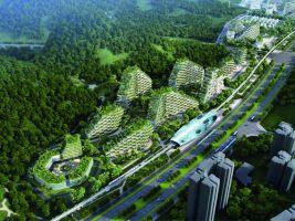 Stefano Boeri Architetti_Liuzhou Forest city_view 1
