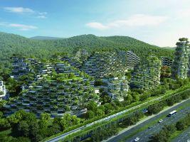 Stefano Boeri Architetti_Liuzhou Forest city_view 2