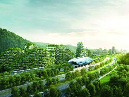 Stefano Boeri Architetti_Liuzhou Forest city_view 3