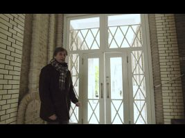 Štencův dům – vestibul
