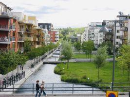 Stockholm Green district Hammarby Sjöstad, Zdroj: Design for Health
