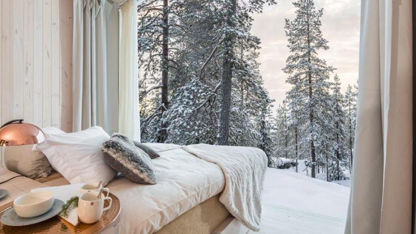 Stromové chatky nabídnou odpočinek v lůně přírody