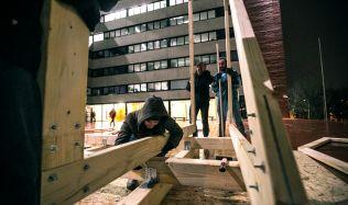 Studenti architektury budou prezentovat své útulny