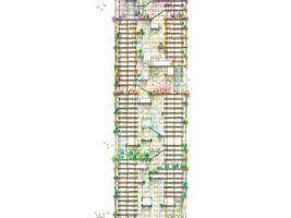 Vizualizace dřevěného mrakodrapu W350