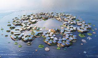 Tak trochu vodní svět bez filmového plátna. Dánové navrhli plovoucí město
