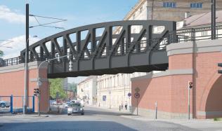 Technologické lahůdky při modernizaci Negrelliho viaduktu