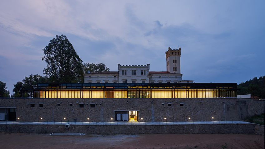 Technologické centrum v Kamenici v sobě kombinuje moderní a historický svět