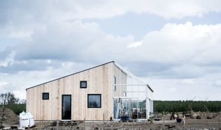 The Green House in Lejre, Denmark by Sigurd Larsen