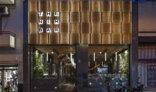 The Nim Bar in Buenos Aires, Argentina by Hitzig Militello Arquitectos