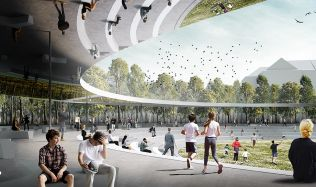 The Ring, A Public Space for Victory Square Prague, Czech republic by SuperSpace