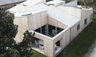 The Roof House in Denmark by Sigurd Larsen
