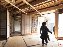 zdroj Ryuichi Taniura Popisek: Plošina, která umožňuje otáčení interiéru domu