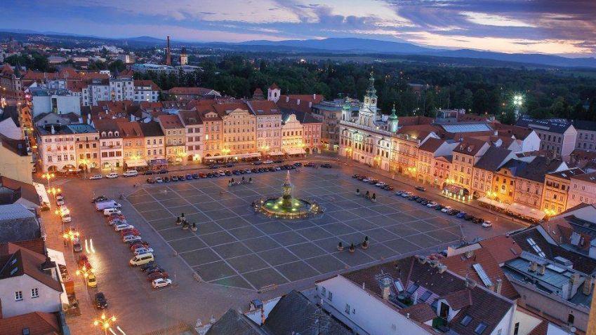 Toulky po regionech: náměstí Přemysla Otakara II. v Českých Budějovicích