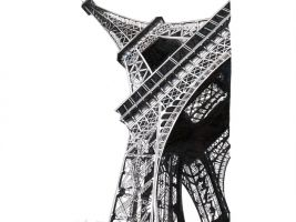 zdroj lorenzoconcas.com/ Popisek: Eiffelova věž v Paříži