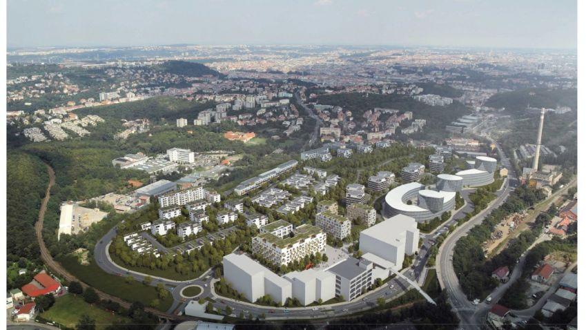 Transformace pražských brownfieldů nabídne nové byty a občanské vybavení