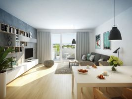 zdroj Trigema Popisek: Vizualizace bytového domu od společnosti Trigema