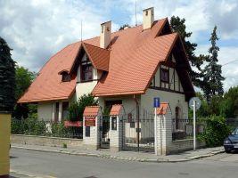 zdroj Wikimedia commons/ Petr Vilgus Popisek: Trmalova vila v pražských Strašnicích