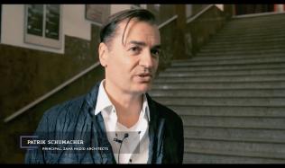 TV Architect meets Patrik Schumacher at Symposium of Experimental Architecture in Prague