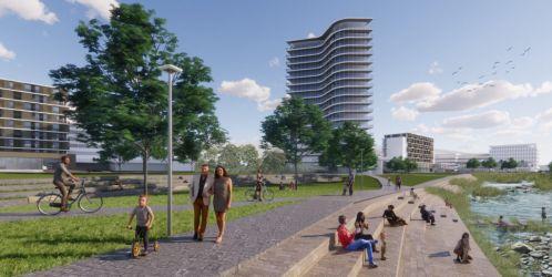 TV Architect představuje: Urbanistická studie areálu Nemocnice Tomáše Bati ve Zlíně od kanceláře Casua