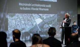 Už příští rok v květnu bychom měli znát architektonické obrysy Vltavské filharmonie