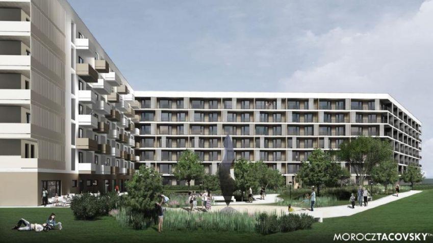 V Bratislavě vyroste velký bytový komplex v ulici Galvaniho