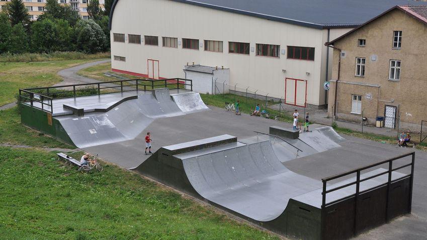 V Chrudimi vybudují nový betonový skatepark