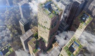 V Tokiu chtějí postavit nejvyšší dřevěný mrakodrap na světě