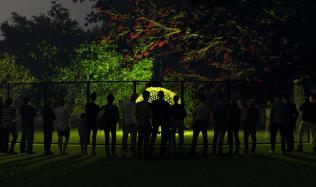 Ve Vojanových sadech se v rámci letošního Signal Festivalu rozsvítí instalace architektky Evy Jiřičné