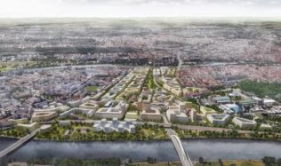 Vedení Prahy řeší, jak budou vedeny sítě technické infrastruktury v budoucí městské čtvrti Bubny-Zátory
