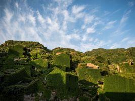 zdroj pinterest.com.mx Popisek: Bývalá rybářská vesnice v Číně