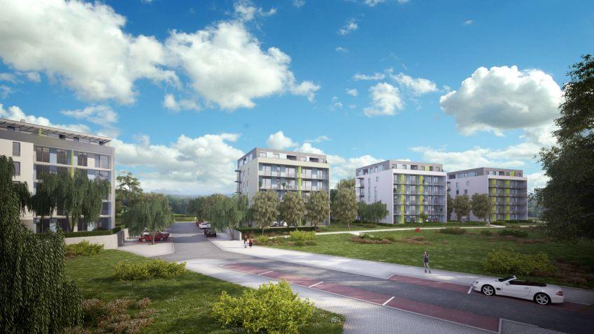Většina bytů projektu Chrudimpark je prodána. Další fáze se začne prodávat na jaře