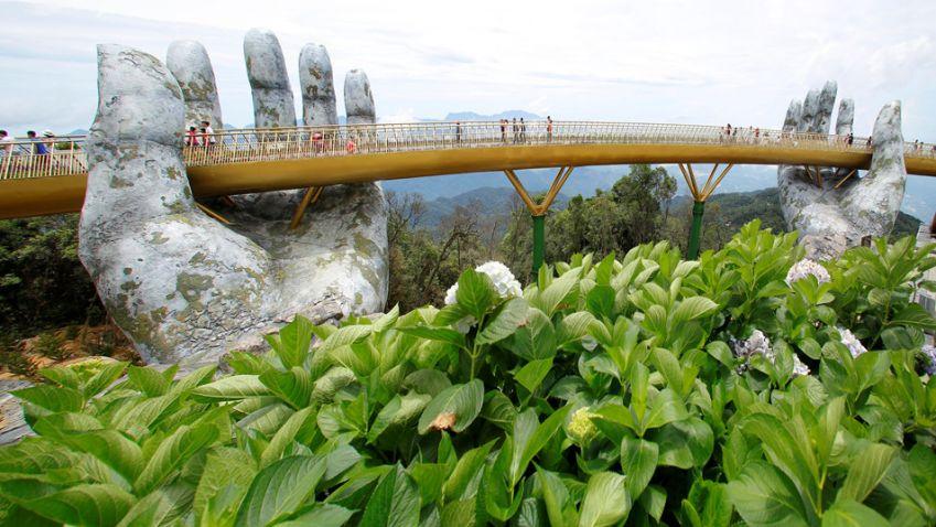 Vietnamský Zlatý most natahuje ruce vstříc turismu