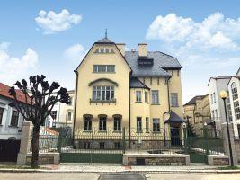 vila stavbavysociny.cz Prestižní stavba kraje Vysočina 2017 Rekonstrukce secesní vily Marie Karas v Jihlavě