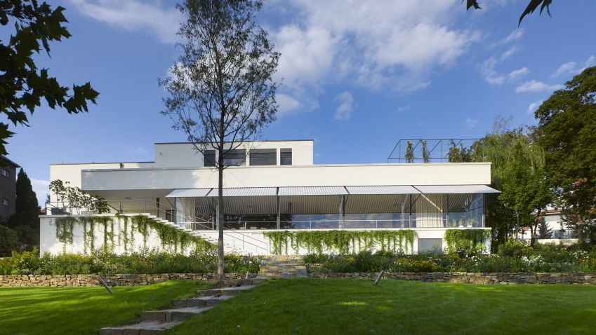 Villa Tugendhat In Brno Czech Republic By Ludwig Mies Van Der Rohe