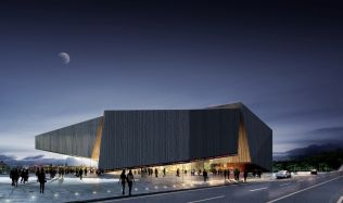 Vision of M. K. Čiurlionis Concert Center in Kaunas, Lithuania by Tabanlioglu Architects