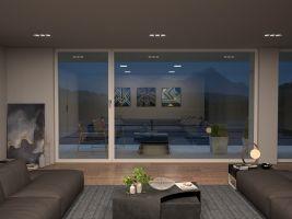 Vizualizace: Běžné okenní zasklení, realizováno Architekti A69