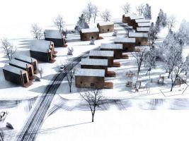 Vizualizace projektu Demänová village