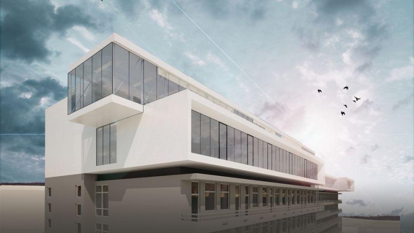 Vláda podpořila projekt Obláček nad Plzní od architektky Evy Jiřičné