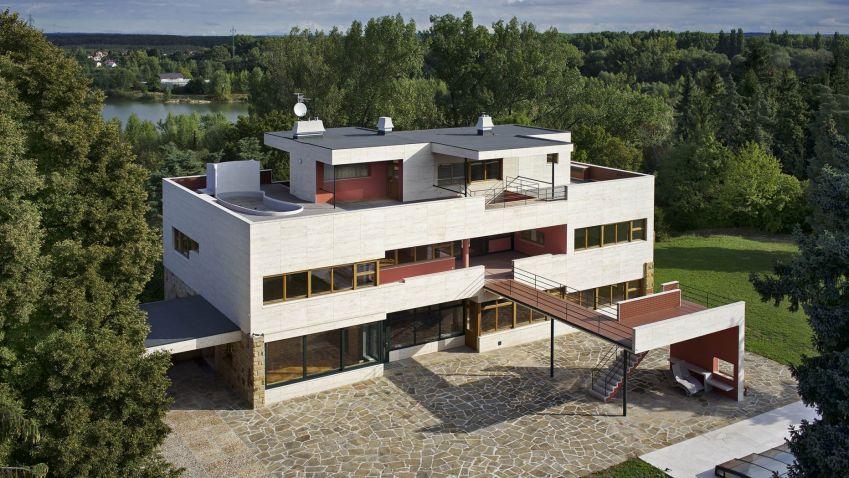 Volmanova vila: První o rekonstrukci napsal britský časopis, Češi ji skoro neznají, a to je škoda