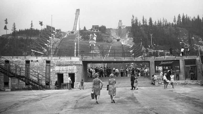 Vysoké Tatry brázdili v roce 1970 olympionici na lyžích
