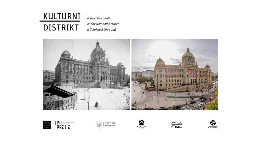 Výstava ukáže proměny okolí budov Národního muzea a Čelakovského sadů