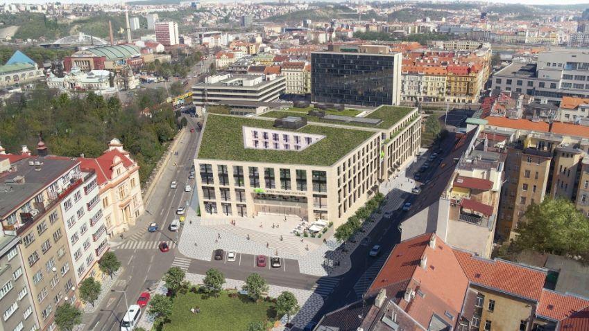 Výstavba obchodního centra Letná po letech průtahů zahájena