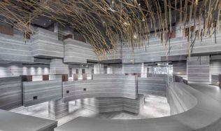 Výstavní prostor v Šanghaji, Číně od Neri&Hu