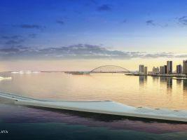 Qatar Doha Sharq Crossing © Santiago Calatrava LLC